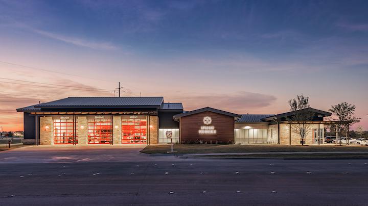 Little Elm Tx Fire Station No 3 2018 Design Awards Firefighters Firehouse