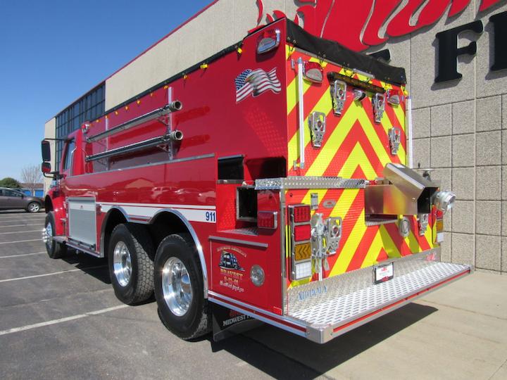 Rome Fire District, Sullivan, WI, Puts Big Tanker, Built ...