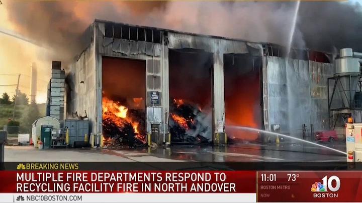 fire in north andover ma
