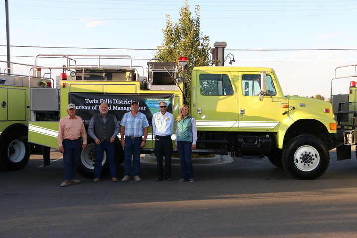 Blm Transfers Wildland Apparatus To Local Id Fire Dept Firehouse