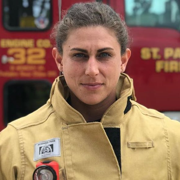 MN Woman Places Fifth In 'Strongest Firefighter' Event