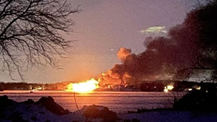 Special Ops Truck >> MN Firefighters Battle Large Lake Home Blaze for More Than ...