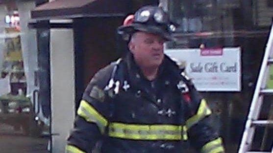 Singac Fire Company firefighter and Little Falls, NJ, Fire Department President Michael Burke.