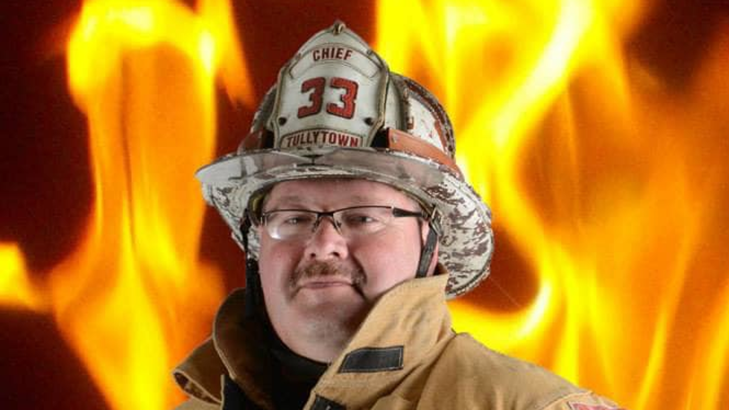 Tullytown, PA, Assistant Fire Chief Rick Johnson.
