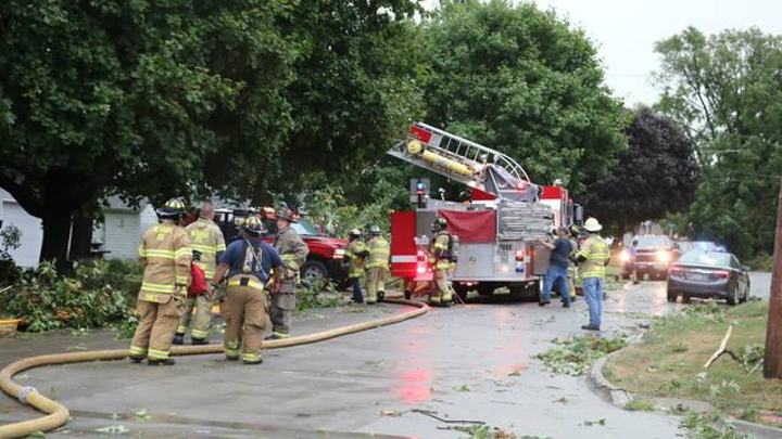 Ia Storm Causes House Fires Knocks Out Fire Department S Radio System Firehouse